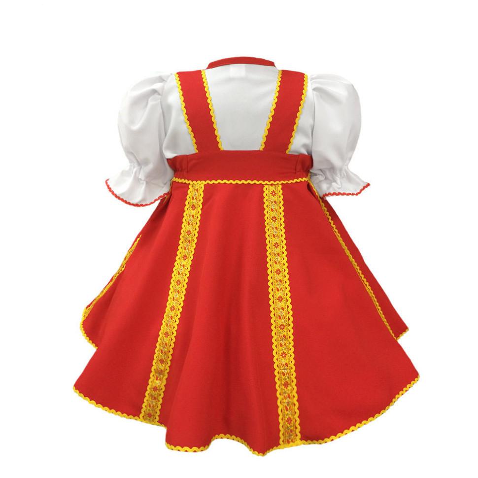 Русский народный костюм своими руками для ребенка