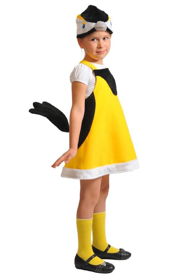 Карнавальный костюм птички своими руками