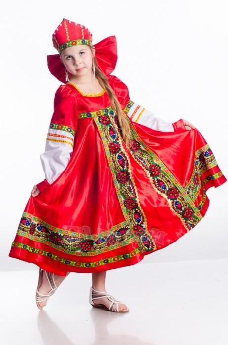 Русский народный костюм для девочек своими руками 86