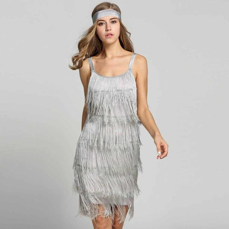 Платье С Бахромой Купить В Москве