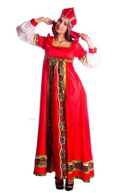 Русские-народные платья купить