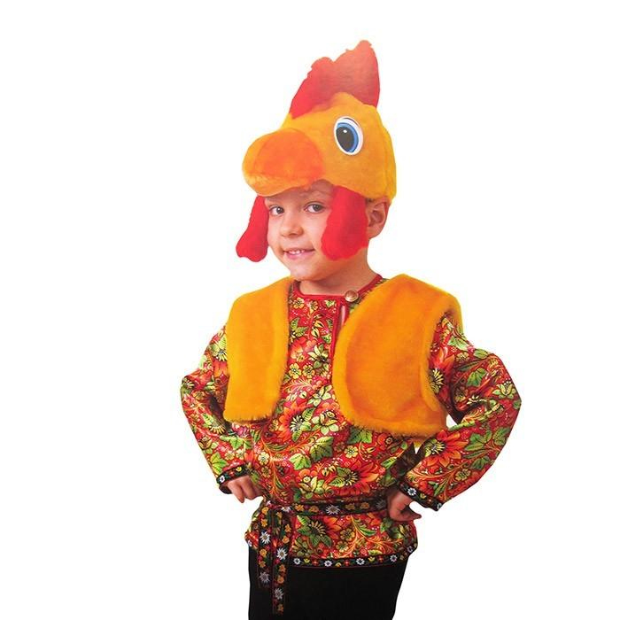 Детский карнавальный костюм Петушок в России Сравнить