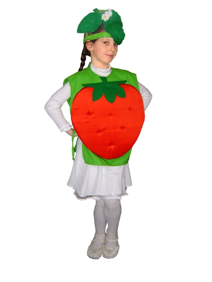 Костюмы фруктов и ягод своими руками 28