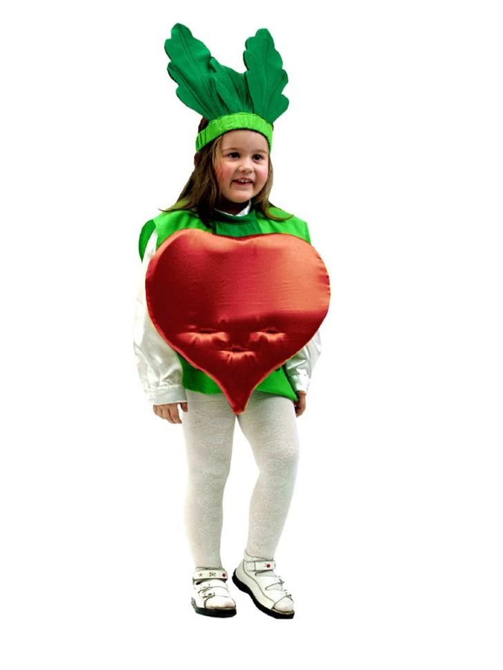 Костюм овощей из картона своими руками